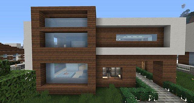 Modern hd resource pack minecraft - Minecraft modern house ...