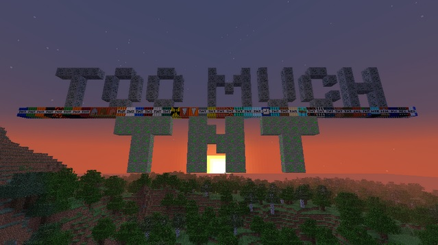 Too Much TNT 1.14/1.13.2/1.12.2/1.11.2