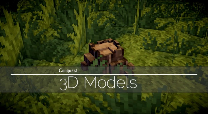 3D Models Pack Resource Pack