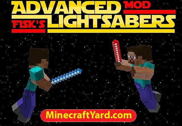 Advanced Lightsabers Mod 1.12.2/1.12.1/1.11.2