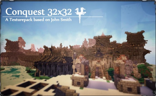 Conquest Resource Pack 1.10.2/1.9.4/1.8.9