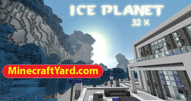 Ice Planet Resource Pack 1.12.1/1.11.2
