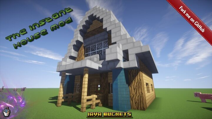 Instant House Mod 1.11.2/1.10.2