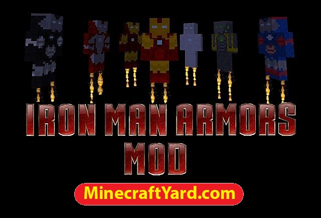 Iron Man Armors Mod 1.12/1.11.2