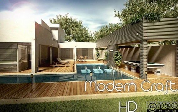 Modern HD Craft 1.10.2/1.9.4/1.8.9