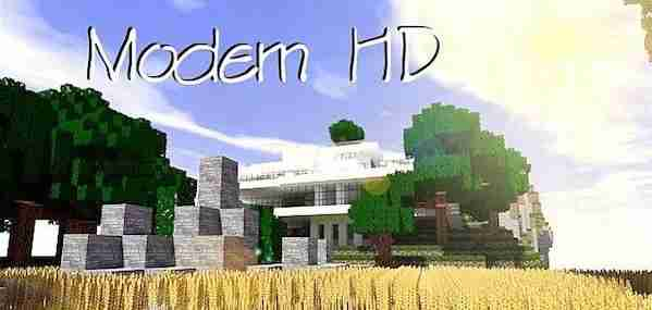 Modern HD Resource Pack 1.10.2/1.9.4/1.8.9