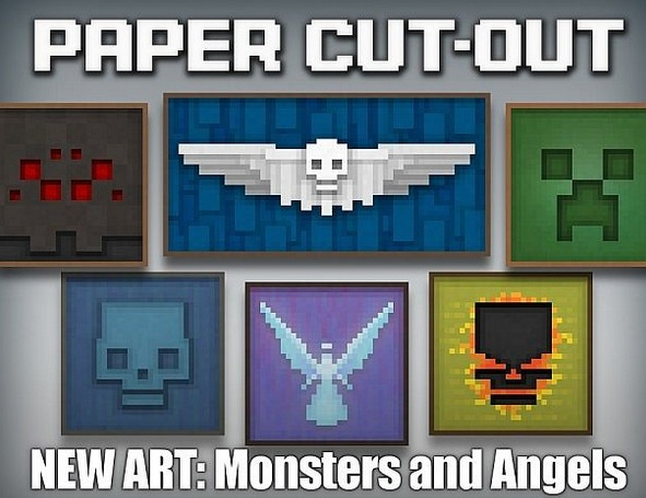 Paper Cut Out Resource Pack 1