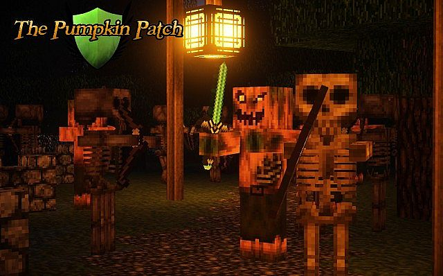Pumpkin Patch Resource Pack 6