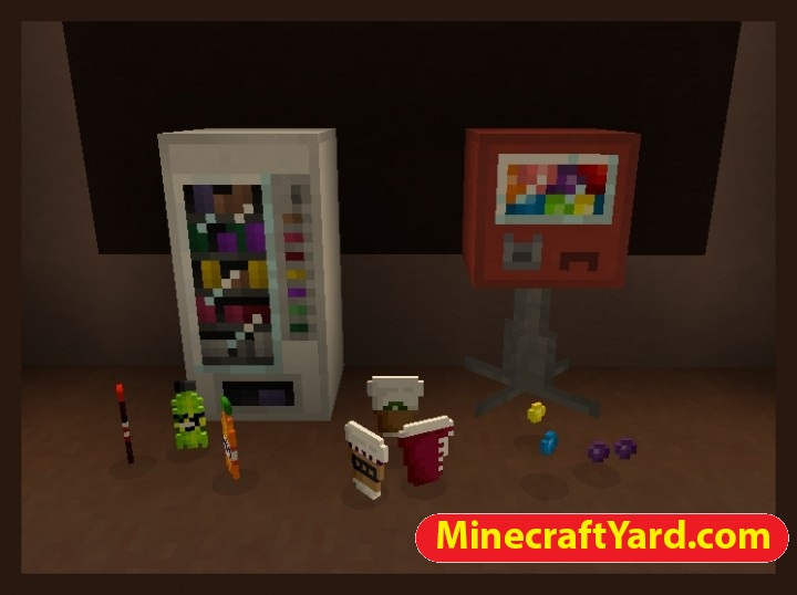 Vending Machines Mod 1