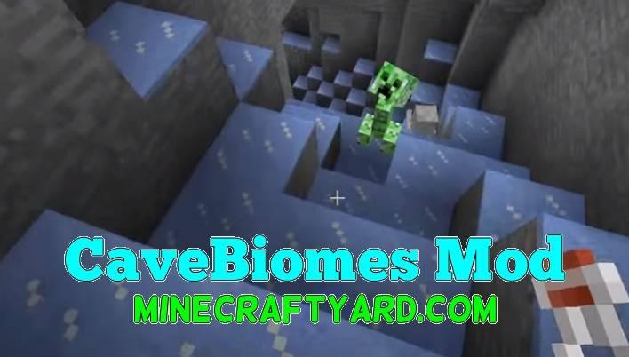 CaveBiomes Mod 1.11.2/1.10.2/1.9.4