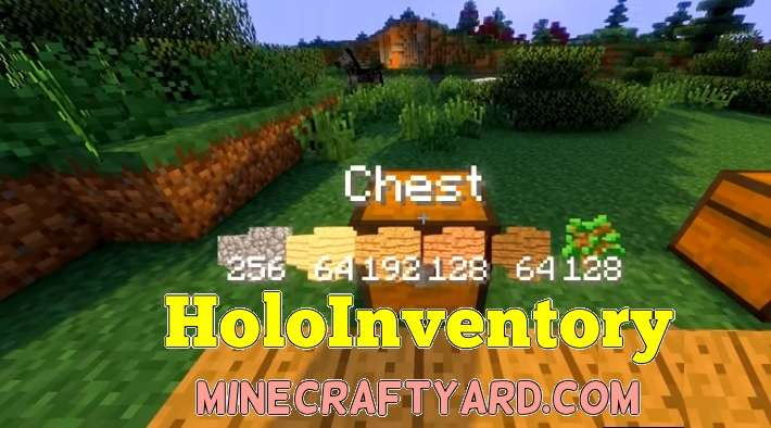 HoloInventory Mod 1.10.2/1.9.4