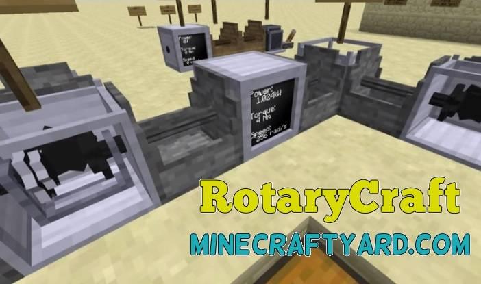 RotaryCraft Mod 1.13.1/1.13/1.12.2/1.11.2