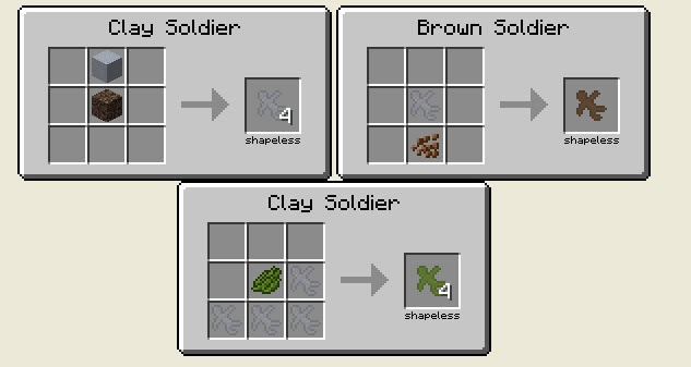Clay Solders 4