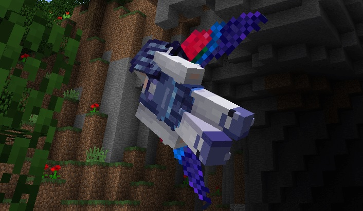 Elytra Green Wings Macaw