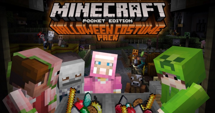 Minecraft Halloween Costume Pack