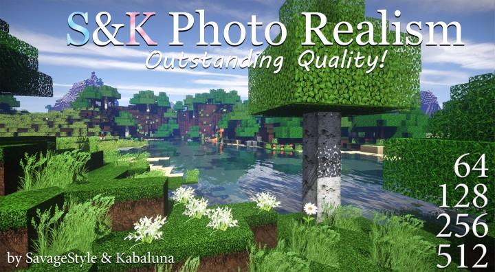 S&K Photo Realism Resource Pack 1.12.2/1.12/1.11.2