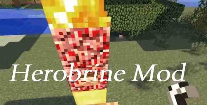 Herobrine Mod 1.11.2/1.10.2/1.9.4