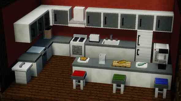 Minecraft Furniture Bedroom furniture mod for 1.12.2/1.12.1/1.11.2/1.10.2/1.9.4 minecraft download