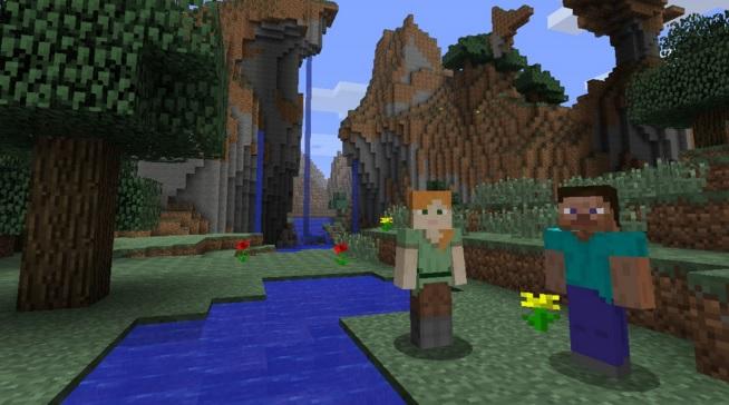 Minecraft WII U Edition Release 1