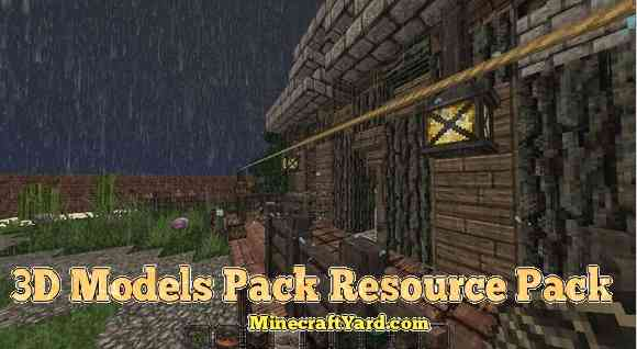 3D Models Pack for Conquest for 1.10.1/1.9.4/1.8.9