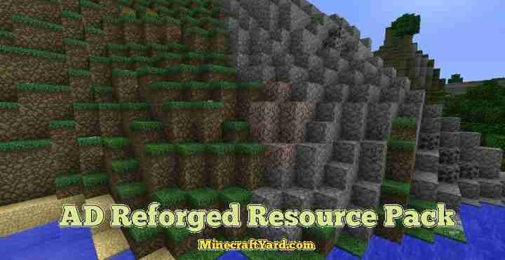 AD Reforged Resource Pack 1.10.1/1.9.4/1.8.9