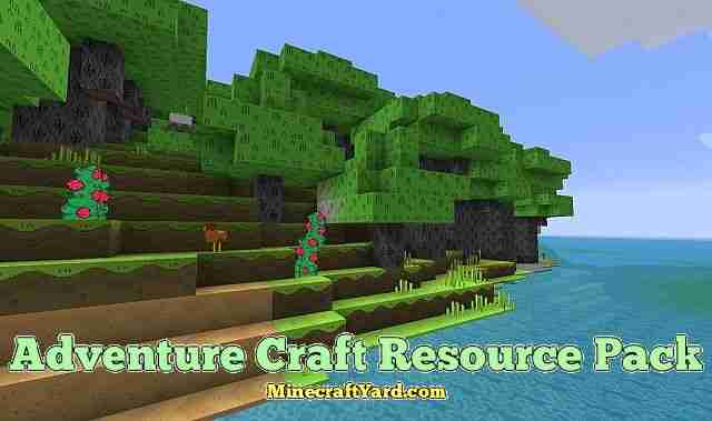 Adventure Craft Resource Pack 1.11.2/1.11/1.10.2/1.9.4
