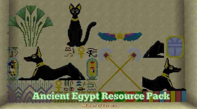 Ancient Egypt Resource Pack 1.13.1/1.13/1.12.2/1.11.2