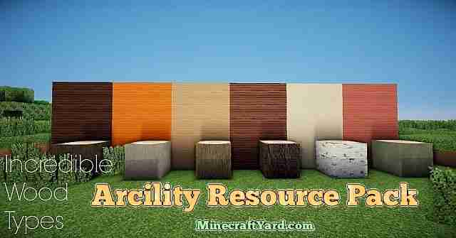 Arcility Resource Pack 1.13.1/1.13/1.12.2