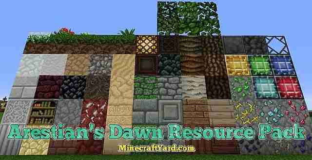Arestians Dawn Resource Pack 1.13.1/1.13/1.12.2/1.11.2