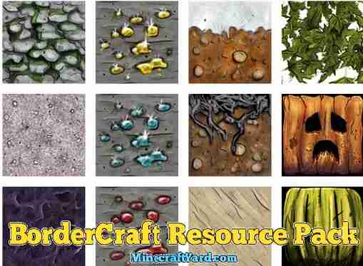 BorderCraft Resource Pack 1.12/1.11.2