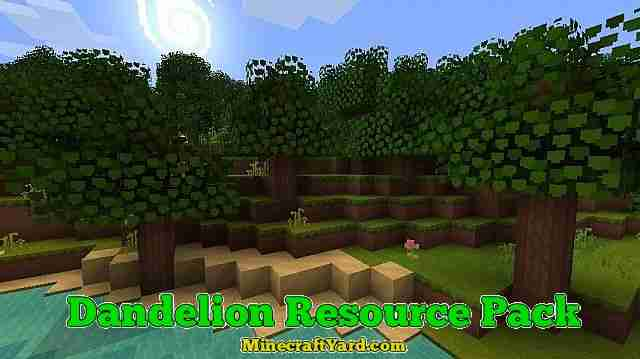 Dandelion Resource Pack 1.11.1/1.11/1.10.2