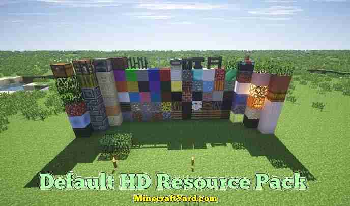 Default 3D Resource Pack 1.10.2/1.9.4/1.8.9