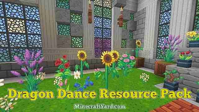 Dragon Dance Resource Pack 1.10.1/1.9.4/1.8.9