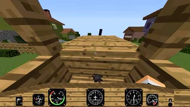 Minecraft Flight Simulator Mod