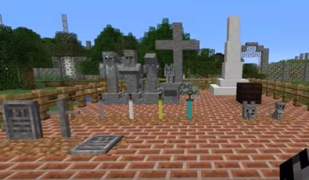 Gravestone Mod 1.13.1/1.13/1.12.2/1.11.2/1.10.2 Minecraft ...