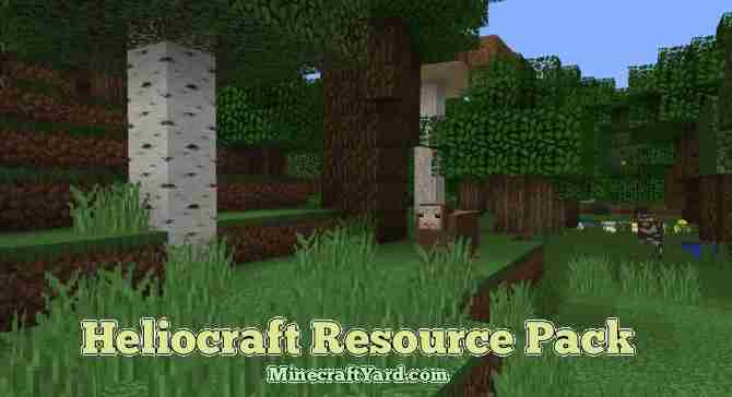 HelioCraft Resource Pack 1.13.1/1.13/1.12.2