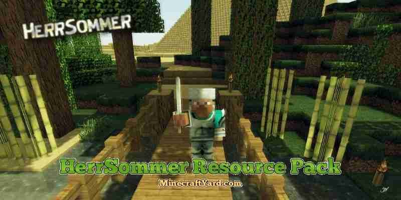 HerrSommer Resource Pack 1.10.1/1.9.4/1.8.9