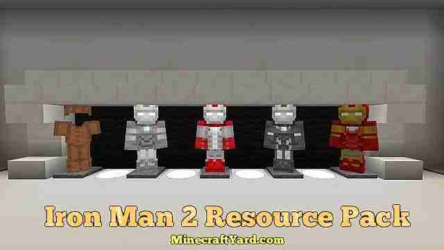 Iron Man 2 Resource Pack 1.11.2/1.11/1.10.2