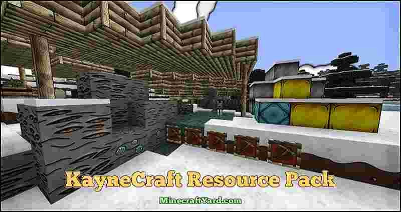 KayneCraft Resource Pack 1.10.1/1.9.4/1.8.9