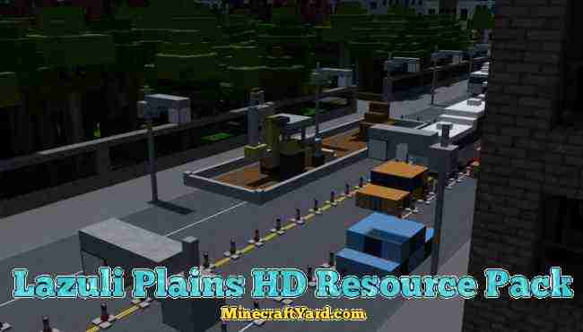 Lazuli Plains HD Resource Pack 1.11.1/1.10.2/1.9.4