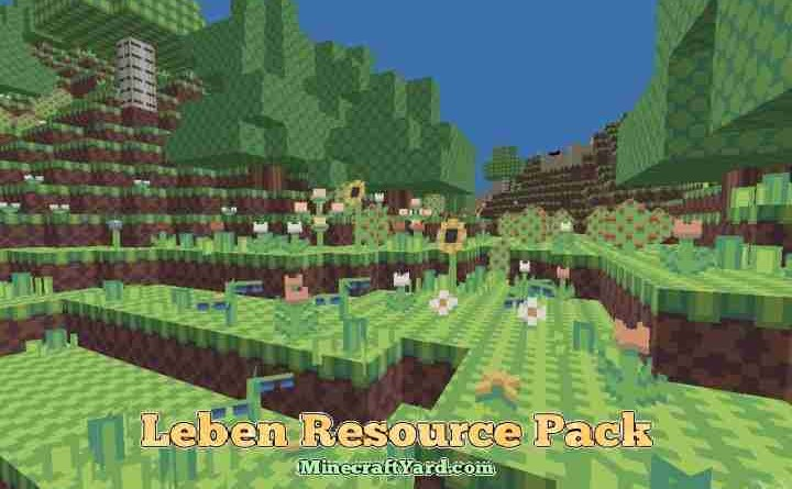 Leben Resource Pack 1.12/1.11.2/1.10.2
