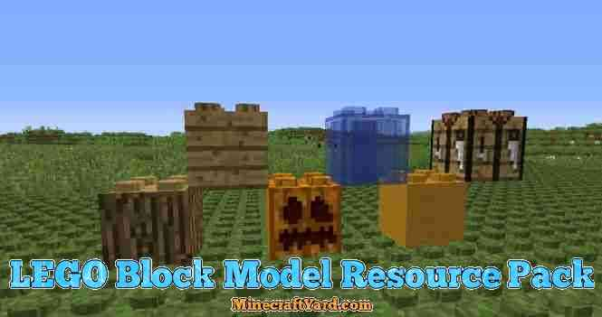 Lego Block Model Resource Pack 1.10.1/1.9.4/1.8.9