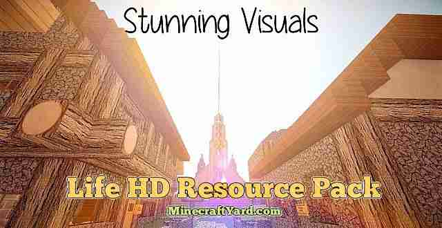 Life HD Resource Pack 1.10.1/1.9.4/1.8.9