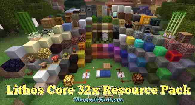 Lithos Core 32x Resource Pack 1.10.2/1.9.4/1.8.9