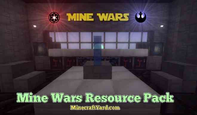 Mine Wars Resource Pack 1.13.1/1.13/1.12.2/1.11.2