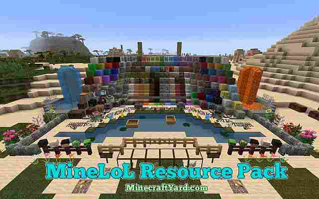 MineLoL Resource Pack 1.10.1/1.9.4/1.8.9