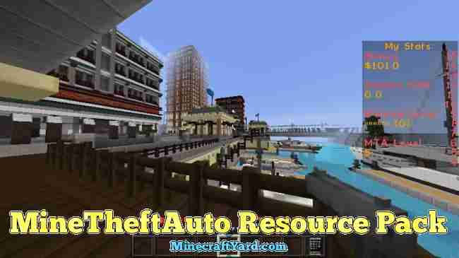 MineTheftAuto Resource Pack 1.12.2/1.12/1.11.2