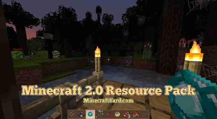 Minecraft 2.0 Resource Pack 1.13.1/1.13/1.12.2/1.11.2