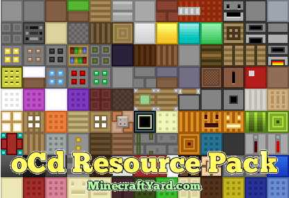 oCD Resource Pack 1.10.1/1.9.4/1.8.9