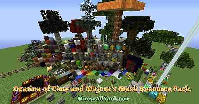 Ocarina Resource Pack 1.12.2/1.11.2/1.10.2